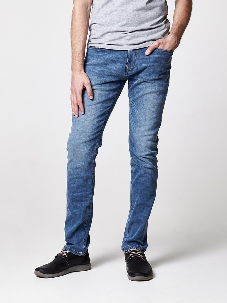 Джинсы COMFORT SLIM, medium blue