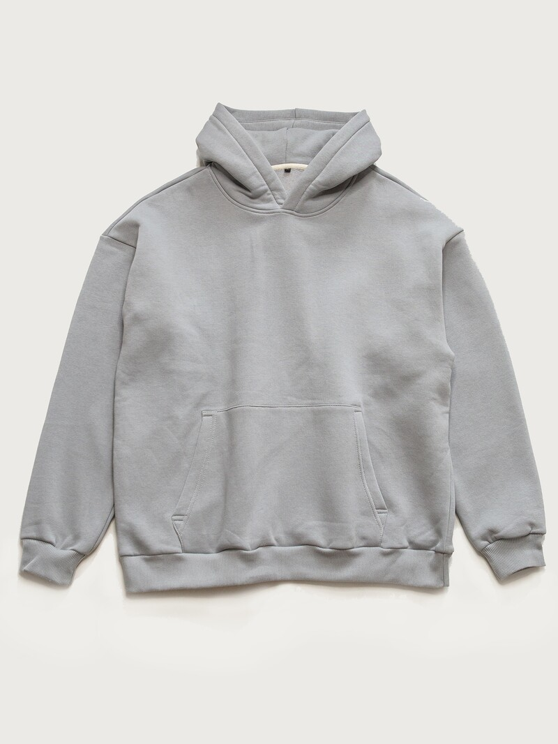Худи OVERSIZE, light grey